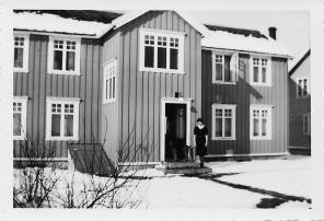 Bakgården, Frydenlund. Marit Johansen d.e. (født Nilsen).